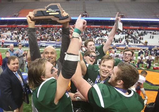 Video: Pleasantville wins football state championship