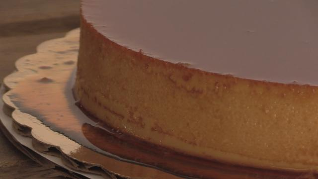 Gilda Burke, owner of Jolirose Bake Shop in Valley Cottage, explains why her flan, made from her mother's homemade recipe, is a perfect dessert for the holidays.