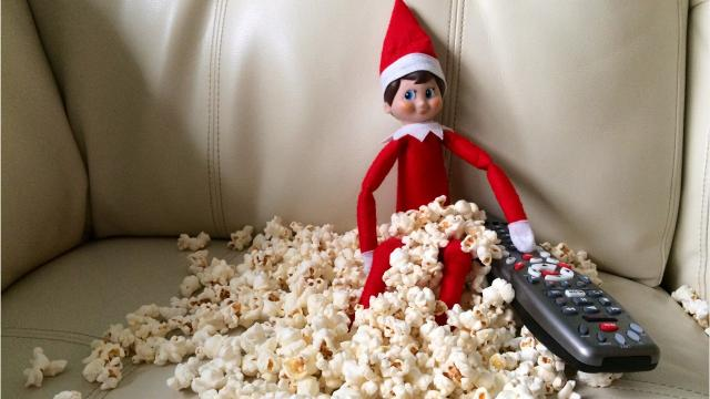Who says Elf on the Shelf is a cute seasonal character? Not Dan Bova