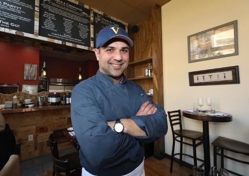 Francesco Coli, the Executive Chef/Owner at Vento Bistro on Huguenot Street in New Rochelle, talks about the cuisine at the restaurant.