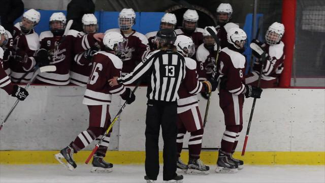 Video: Fordham Prep hockey beats Scarsdale