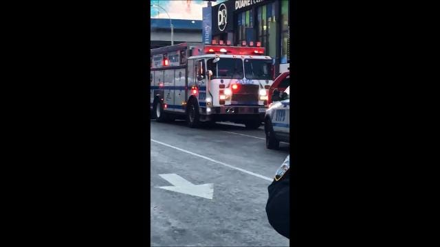 Video: Times Square explosion aftermath