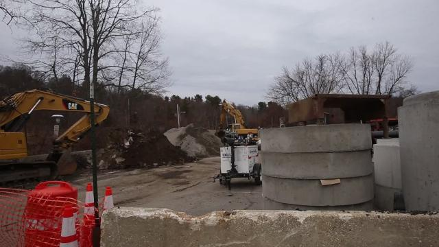 New Castle officials say they need to quickly find additional storage space for dug-up dirt, pipes and other parts associated with the downtown Chappaqua infrastructure/streetscape project that has been underway for weeks.