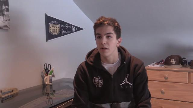 Video: Matt Lucido, Rockland Scholar Athlete of the week