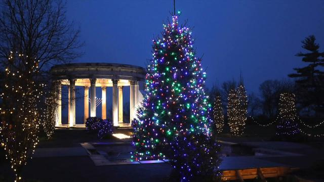 Take a glimpse at the 3rd annual Grand Holiday Illumination in the Persian inspired Walled Garden, at Untermyer Park in Yonkers.