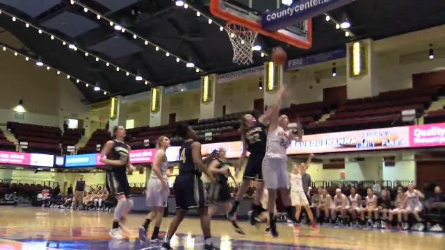 Video: Somers girls lose to Susquehanna in Slam Dunk basketball