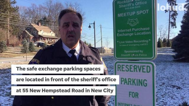 Video: Rockland Sheriff Louis Falco discusses safe exchange spots
