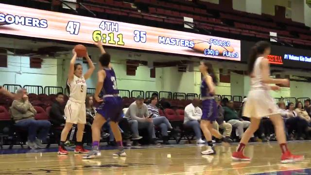 Video: Somers beats Masters in Slam Dunk basketball consolation game