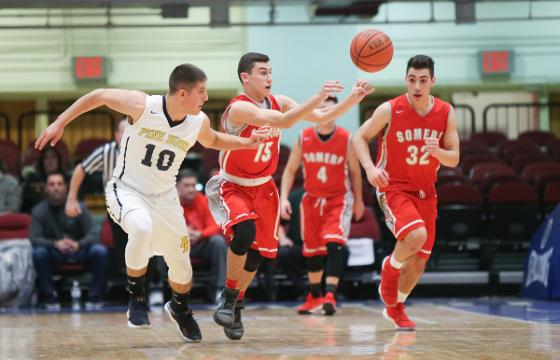 Video: Somers falls 65-44 to Pine Bush in the Slam Dunk Tournament