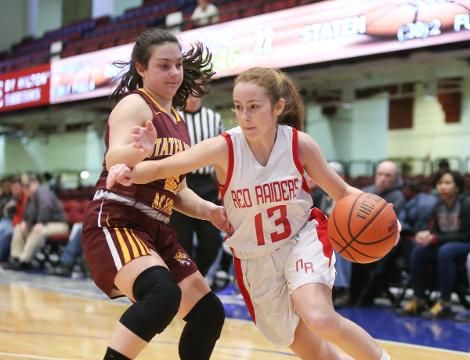 Video: No. Rockland Girls fall 57-62 to Staten Island in the Slam Dunk Tournament