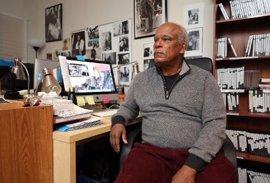 """Stanley Nelson, is a producer and director of Firelight Films in New York. His new film, """"Tell Them We Are Rising"""" , the story of black colleges and universities, is premiering on Monday, Feb. 19, 2018 on PBS."""