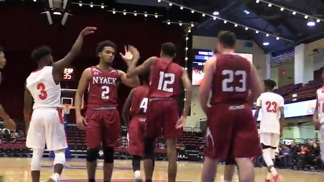 Video: Nyack beats Hamilton in Slam Dunk basketball