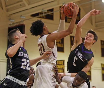 Video: Mount Vernon defeats New Rochelle 69-58