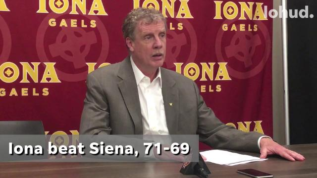 Video: Tim Cluess on Iona's 71-69 Win Over MAAC Rival Siena