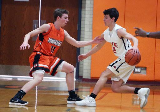 Video: Rye tops Mamaroneck in boys basketball