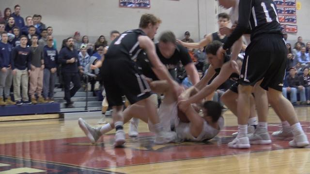 Video: Byram Hills tops Rye in varsity basketball