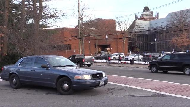 Video: Police presence beefed up at New Rochelle High School
