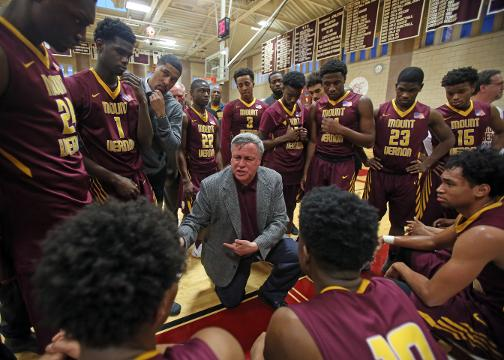 Video: Mount Vernon Basketball Coach Bob Cimmino wins 500 game