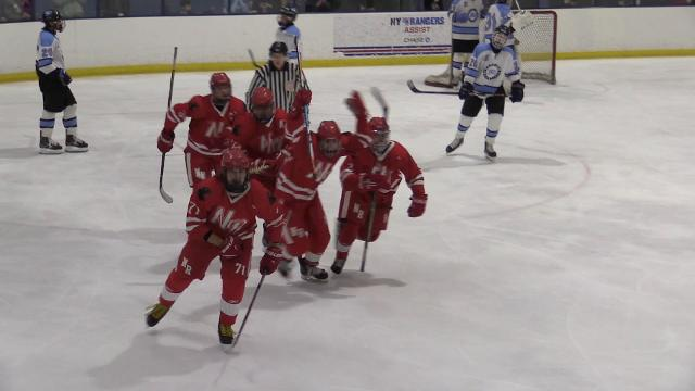 Video: North Rockland beats Suffern hockey