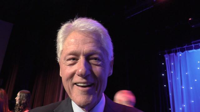 What is life like with the Clintons as neighbors? Bill interrupted my salon day once