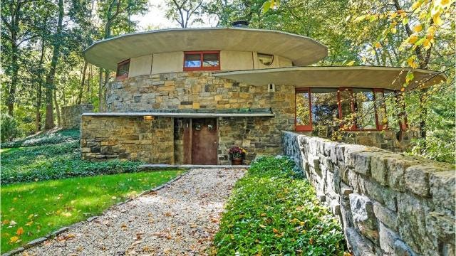 A Pleasantville home, known as Toyhill, was built in 1948 in a community of homes Frank Lloyd Wright named 'Usonia.'