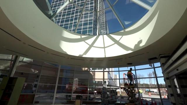 A look inside the Resorts World Catskills casino, under construction and opening soon in Monticello Jan. 25, 2018.