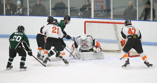 Video: Game highlights of Mamaroneck vs. Brewster/Yorktown ice hockey