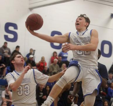 Video: Hen Hud tops Poughkeepsie in varsity basketball