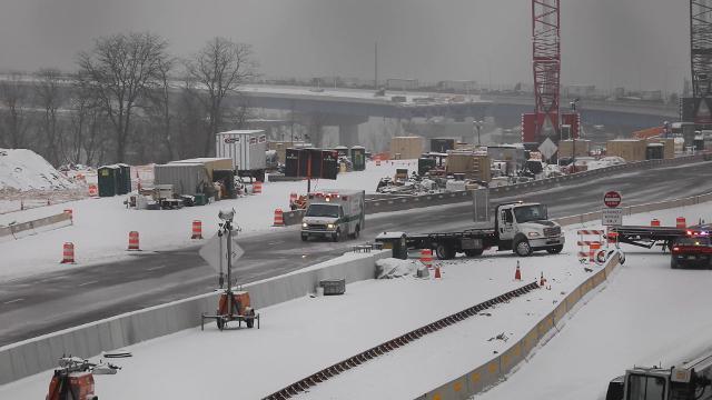 Video: Accident closes Mario M. Cuomo Bridge