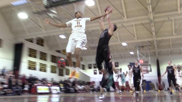 Video: Scarsdale basketball wins at Mount Vernon