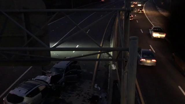 Videos: Bronx River Parkway wrong-way crash
