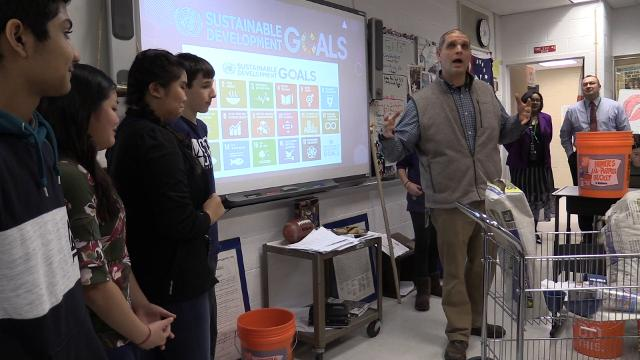 The ESTEAM program at the Yorktown School District teaches empathy with problem solving.