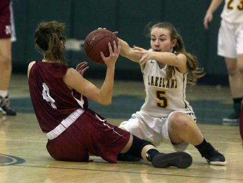 Video: Lakeland over Nyack in girls hoops out-bracket playoff game