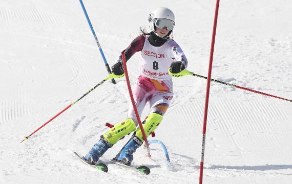 Video slideshow of the Section 1 girls skiing championships at Hunter Mountain Feb. 14, 2018. Frank Becerra Jr./Lohud.