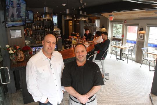 Stone Fire restaurant has recently opened on Lexington Ave in Mt Kisco. Co-Owners Tommy Calandrucci and Gianni Piccolino talk about their latest venture Feb. 15, 2018.