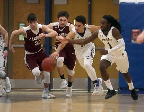 Highlights as Walter Panas defeated Harrison 66-52 in a first round varsity basketball game at Walter Panas High School Friday.
