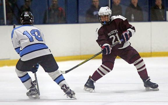 Suffern defeats Scarsdale 5-1 during Section 1 Division I quarterfinals at Sport-O-Rama in Monsey Feb. 19, 2018.