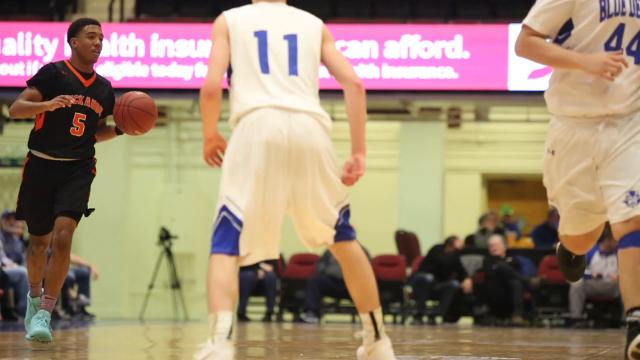 Game Highlights of Haldane vs Tuckahoe Boys Section 1 Class C basketball game at County Center in White Plains Feb. 20, 2018.