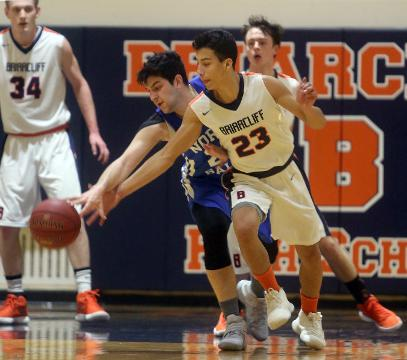 Highlights from Briarcliff's 80-34 victory over North Salem in Section 1 Class B quarterfinal basketball game at Briarcliff High School Wednesday.