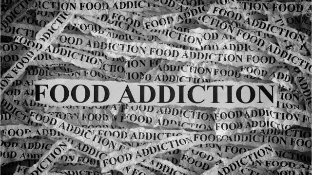 A group modeled on Alcoholics Anonymous helps those with food addictions.