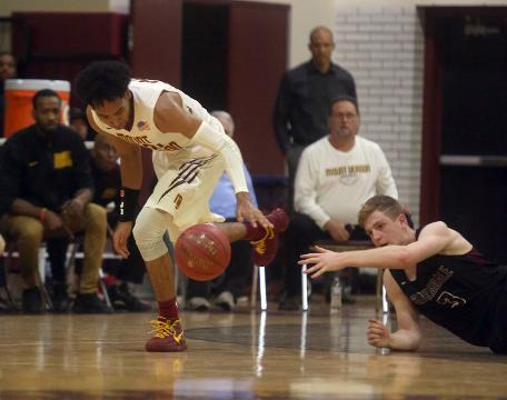 After losing to Scarsdale during the regular season, Mount Vernon topped Scarsdale 87-79 in the Section 1 Class AA quarterfinal basketball game at Mount Vernon High School Friday. Here are the highlights.