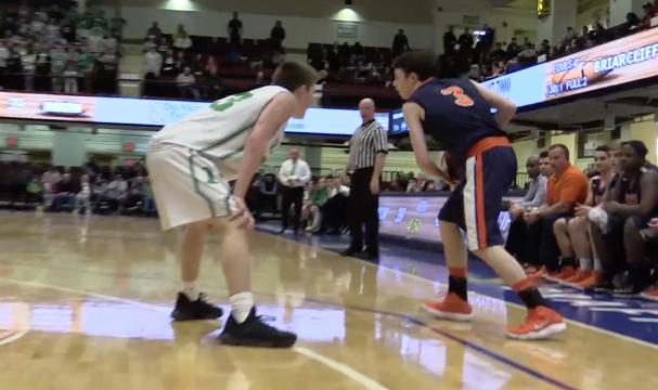 Video: Briarcliff boys basketball beats Irvington in semi