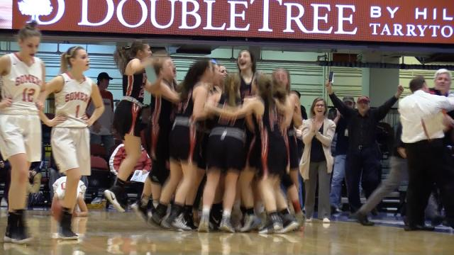 Video: Rye defeats Somers with a buzzer beater