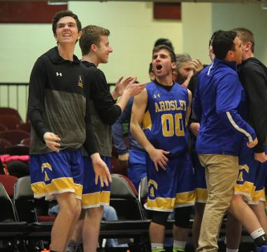 Video: Ardsley defeats Hendrick Hudson 48-42 in boys basketball Class A semifinal
