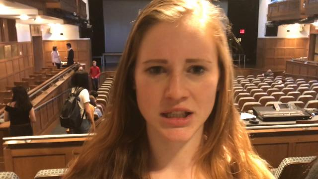 "The cast of ""The Addams Family"" at Bronxville High School share some of their favorite lines. ""The Addams Family""; 5 p.m., March 8; 7 p.m., March 9, 10; $15; Eventbrite.com or door"