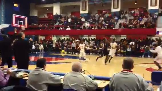 Video: Khalil Edney's amazing 55-foot winning shot