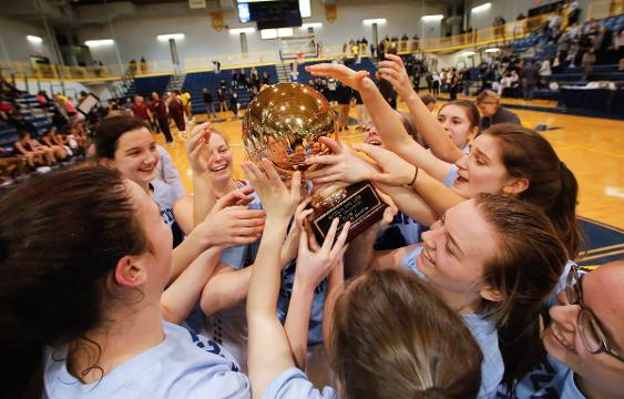 Video: Rye defeats Harrison 45-42 to claim the championship in Class A