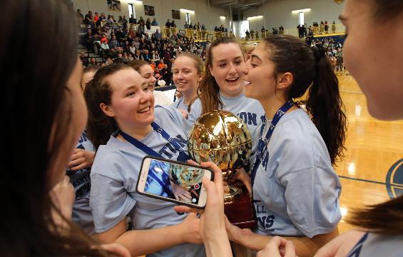 Video: Irvington wins girls basketball championship