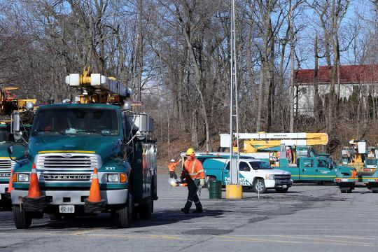 Video: Utility crews from Canada help restore power in Westchester