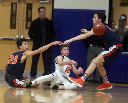 Highlights from Briarcliff's 57-51 win over Marlboro in a New York State Class B regional semifinal basketball game at Mount St. Mary College in Newburgh Tuesday.
